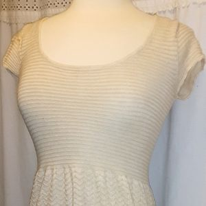 American Eagle Outfitters s/p gold sparkly dress W